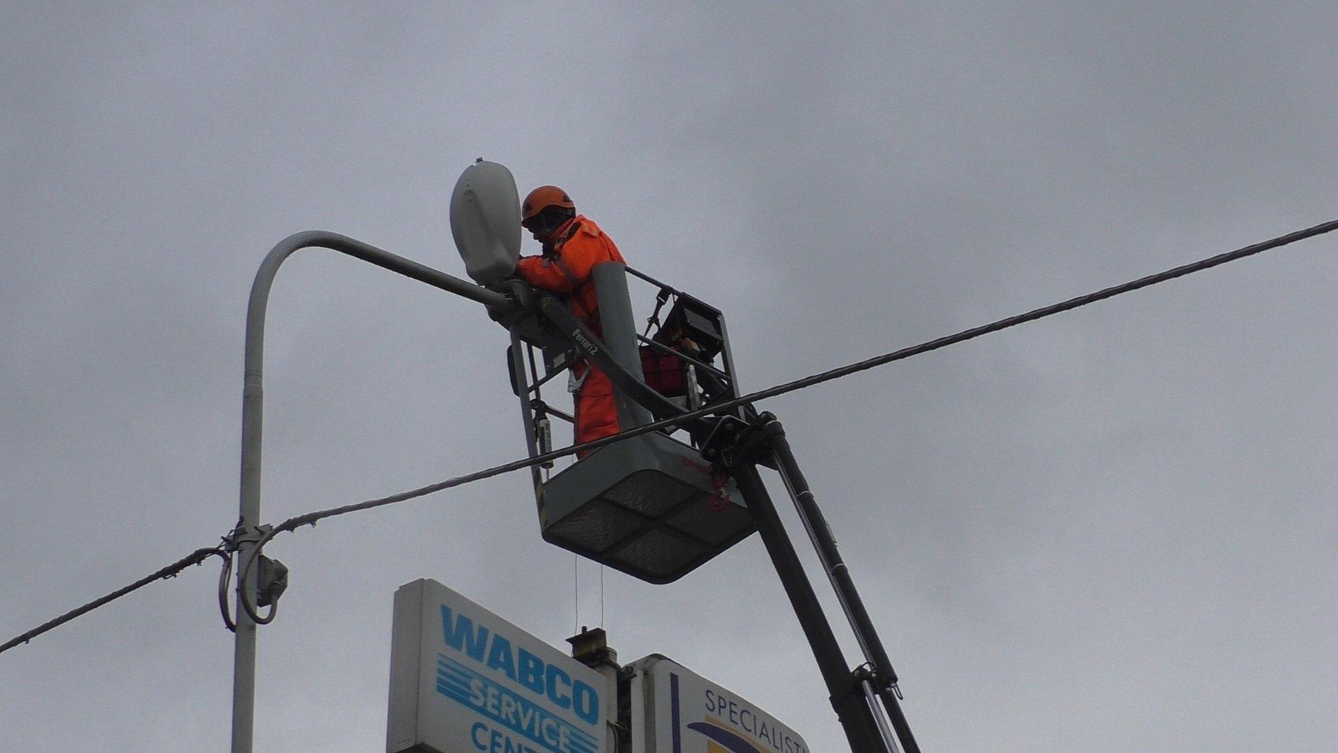 Iniziata l'Operazione Relamping a Sala Consilina: in fase di installazione 1500 nuovi led