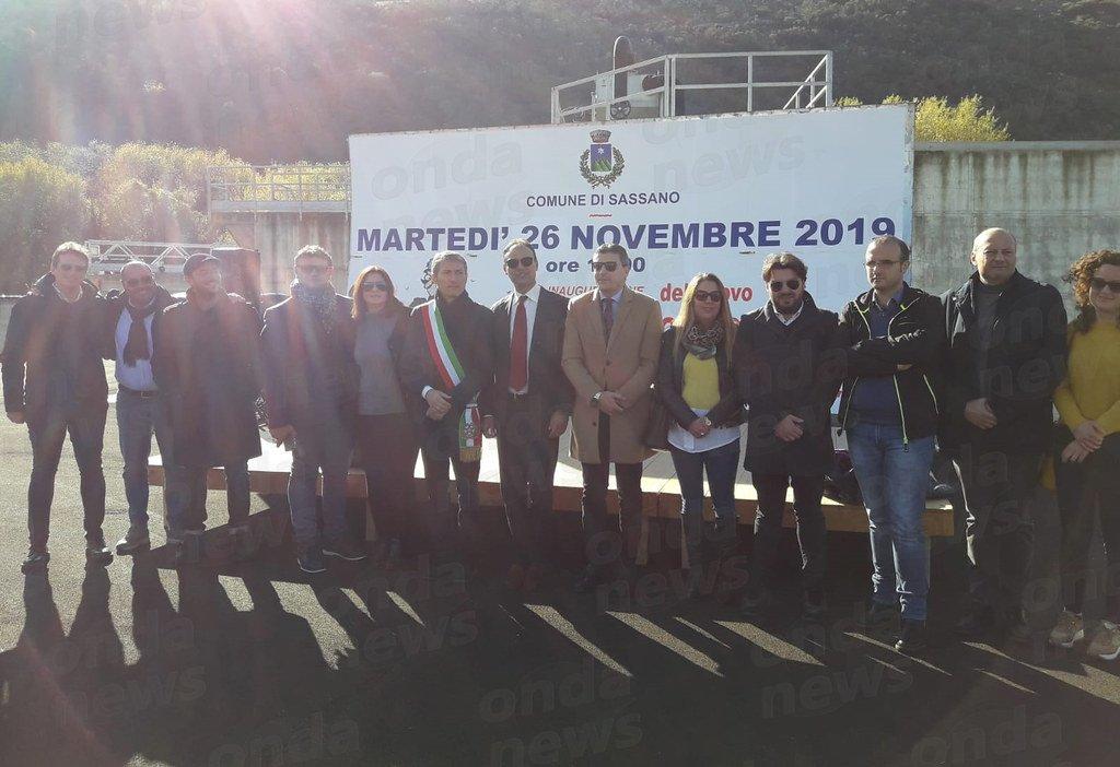 Pagano&Ascolillo S.p.A. partecipa all' inaugurazione del nuovo depuratore a Sassano (SA)
