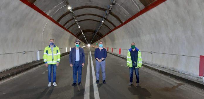 Bova, terminati i lavori nelle gallerie sulla statale 106